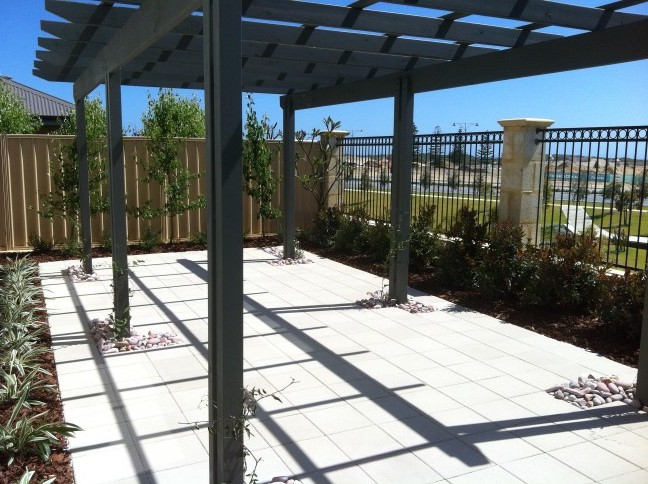 Timber & Steel Patios at Residential Property