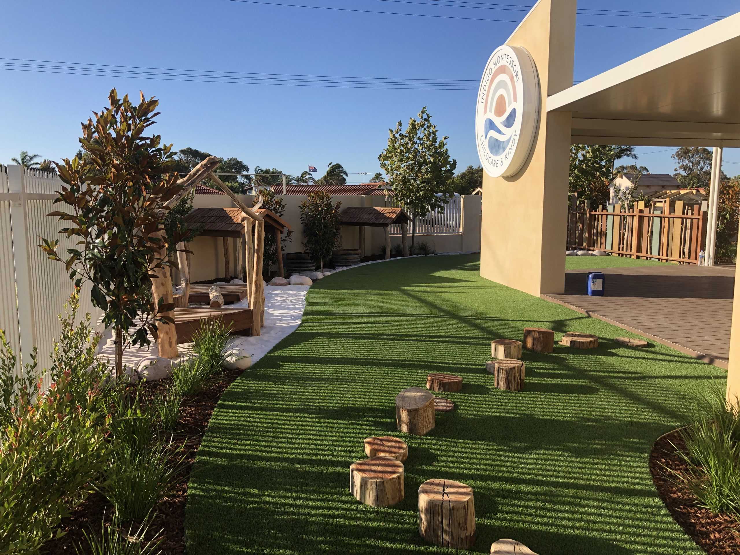 Turf Installation at Mulberry Childcare